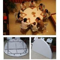 Buy cheap 72 in. Blow Mould Plastic Round Folding Table (SY-183ZY) product