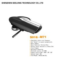 Quality Black Wireless Mono Bluetooth Headset Stereo ABS & PVC BCM For Computer for sale