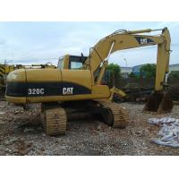 Buy cheap Used CAT 320C Excavator Caterpillar 20 Ton 1.0cbm Capacity / Used Construction from wholesalers