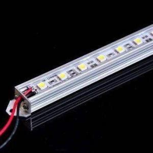 Buy cheap 12V DC 3000K SMD 5050 LED Strip Light 2 / 3 M Strip Length For Decoration product