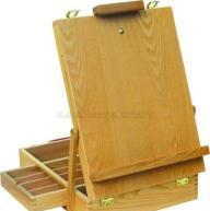 Buy cheap ECS16116, Easel, Wooden Easel, Box Easel, Artist Easel, Children Easel product
