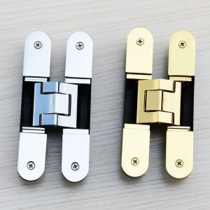 Buy cheap 3d adjustable hinge uk 180 degree hidden door hinges product