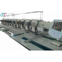 Buy cheap 12 Heads Mixed Flat And Double Sequin Embroidery Machine For Industry product