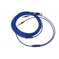 Buy cheap 3m / 5m 2 Cores SM Armored Fiber Patch Cable , LC FC SC ST Duplex Patch Cord product