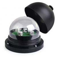 Buy cheap Black Plastic Electric Round Cup For Casino Dice Gambling Cheat With Remote Control product