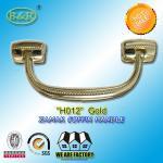 Buy cheap Size 18.7*7.6 cm Casket Hardware metal coffin handle Ref No H012 zinc alloy gold color from Wholesalers