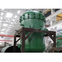 Buy cheap Plate Type Vertical Pressure Leaf Filter Batch Working Hermetically Operated product