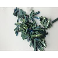 Buy cheap Men / Women Strip Loose Bead Necklace Magnetic Hematite Jewelry Green Plating from wholesalers