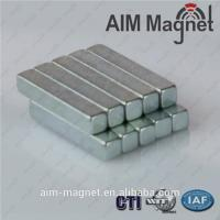 Buy cheap Customized Rectangular Magnet N42 Zn Coating product