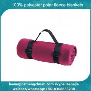 China Disposible Flame Retardant Polar Fleece Airline Blanket on sale
