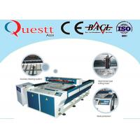 Buy cheap Plastic Laser Engraving Machine For Textile Cloth , 200W Laser Engraving Machinery product