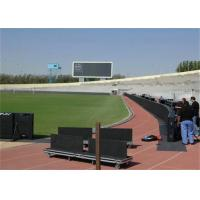 Buy cheap Stadium Football LED Pitch Side Advertising Boards High Definition P12 1R1G1B product