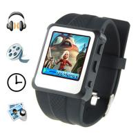Buy cheap MP4 Player Watch - 1.5 Inch Screen, 8GB (Black) product