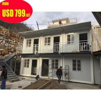 China 40ft prefabricated puerto rico luxury container house price on sale