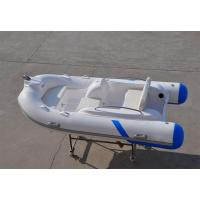 Buy cheap Liya 3.3m fiberglass hull material inflatable boat with center console and seat product