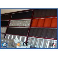 Buy cheap Glazed Zinc Stone Coating Roof Antique Tile Roll Forming Machine High Speed 6-8m/min product