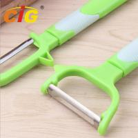 Buy cheap Multifunctional Stainless Steel Peeling Knife , Plastic Melon Grater Apple Peeler product