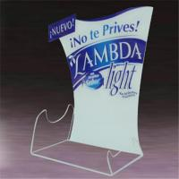 Buy cheap Acrylic Table Tent product