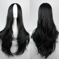Buy cheap Medium Wigs Long Curly Hair Cosplay Wigs Waving and Dyeing Hair product