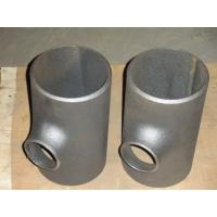 Buy cheap Sand blasting Reducing tee Pipe Fitting seamless pipe fitting tee product