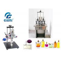 Buy cheap 4 Nozzles Semi Auto Nail Polish Manufacturing Machine 10-20bot/Min With Crimper product