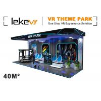 Buy cheap Outdoor Enterainment VR Theme Park With 6 Dof Electric System Customized Color product