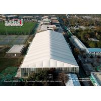 Quality 3-80m clear span aluminum and pvc tents for sports, big tents for sports court, temporary tructure for sports court for sale