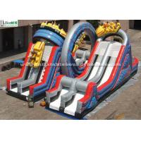 Giant Inflatable Game Of Shuttle Space Slide For Outdoor Use