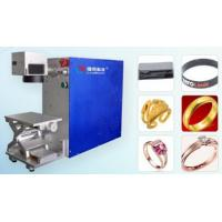 Buy cheap Portable Laser Marking Machine  AC220V / 50Hz With inside and outside ring,flat products product