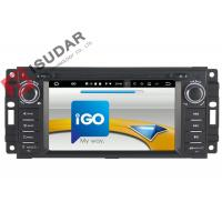 Quality 6.2 Inch Car Dvd Player GPS Navigation , Android Auto Head Unit For JEEP / Chrysler / Dodge for sale