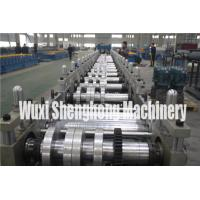 Buy cheap Gutter Style Ridge Cap Roll Forming Machine Roof Flashing Profile product