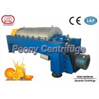 Buy cheap Large Capacity Continuous Decanter Centrifuges for Fruit Juice Clarifying product