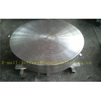 Buy cheap P355QH EN10273 Carbon Steel Forged Disc  PED  Export To Europe 3.1 Certificate Pressure Vessel Blank Flange from Wholesalers