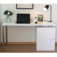 Corner Computer Desk With Drawers Contemporary Home Office Furniture