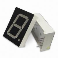 Buy cheap 1.0-inch 25.4mm Multiplex PO Clock Single-digital 7 Segment LED Displays, Comes in Various Colors product