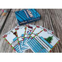 Buy cheap Custom Printed Adult Card Games / Art Paper Smooth Card Games For Kids from wholesalers