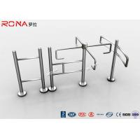 Buy cheap RFID Half Height Automatic Systems Turnstiles Electronic Mechanism 30 Persons / Minute product