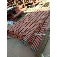 Buy cheap Circulating Fluidized Bed Boiler Superheater Coils , Gas Steam Superheaters product