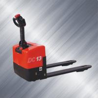 China Ac Powered Full Electric Pallet Stacker Truck Durable Rigid Frame Energy Saving on sale