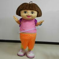 Buy cheap Adult size dora mascot costume party from wholesalers