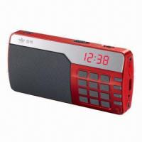 Buy cheap Speakers with FM Radio, microSD Card, U-disk Music Playing, Record Function and LED Digital Display product