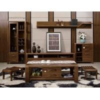 China Modern Design Living Room Furniture / Solid Wood Wall Units Coffee Table on sale