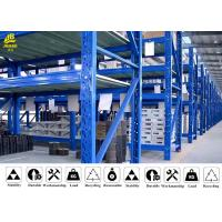 Buy cheap Rust - Proof Medium Duty Steel Rack For Storage Reasonable Structure product