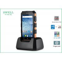 Buy cheap Barcode Scanner phone Android 5.1.1 Rugged 2G 16GB 5inch Phone with LF 125KHz from Wholesalers