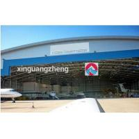 China steel structure prefabricated aircraft hangar on sale