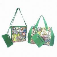 Buy cheap Synthetic Leather Bags with Floral Printed and Individual Envelope Pouch product
