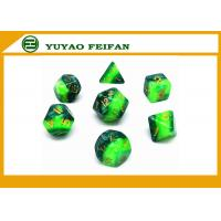 Buy cheap Different Colors Play Gaming Accessories 10 Sided Marble Polyhedral Dice D10 Set product