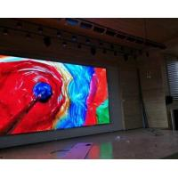 Buy cheap High Resolution P4 Indoor Led Video Wall Display For Stage / Nightclub product