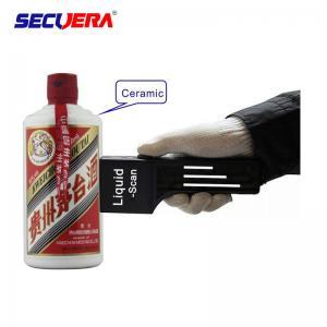 China Handheld Metal Detector Airport Baggage Scanner For Dangerous Liquid Explosive Detecting on sale