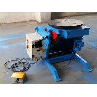 Buy cheap Light Duty Rotary Welding Positioner , Welding Rotating Table For Tube Welding Industry product